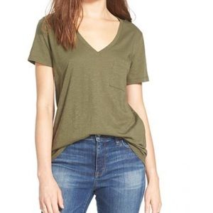 madewell | whisper cotton v-neck tee